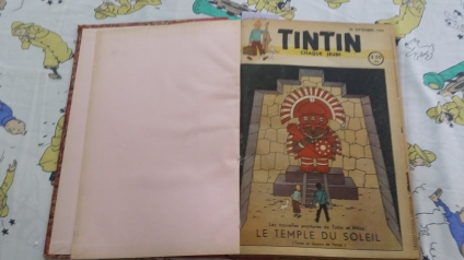 Journal tintín belga año 1946