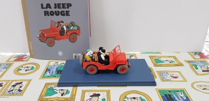 Coche jeep conduit Dupondts 1/24