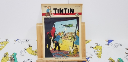 Journal Tintín Belga núm. 3 4rt. any