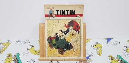 Journal Tintín Belga núm. 16, 4rt. any