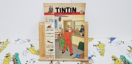 Journal Tintín Belga núm. 19, 5è any.