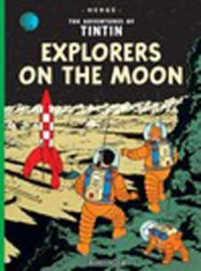 Explorer on the moon