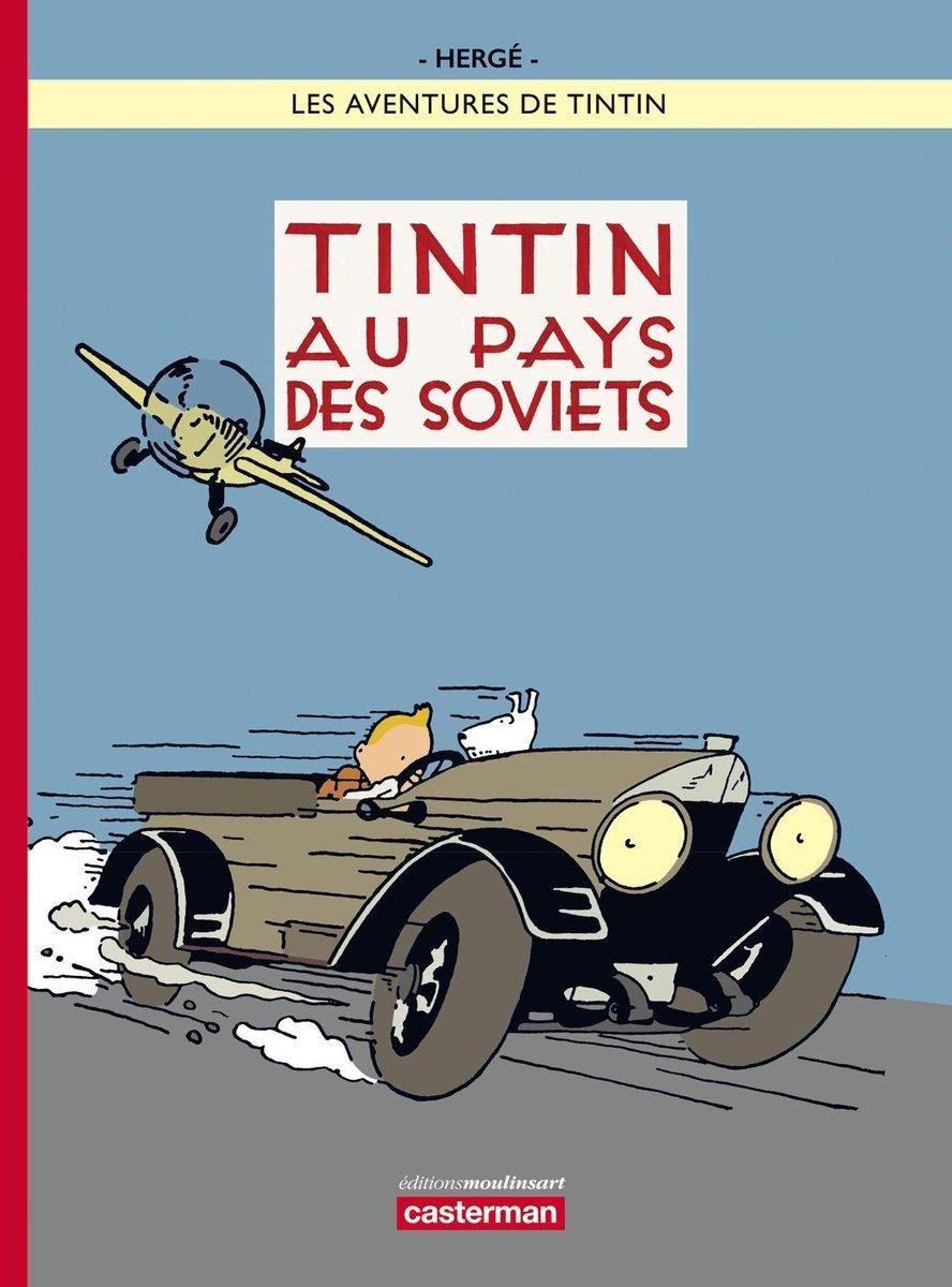 Resultado de imagen de primera comic  de tintin