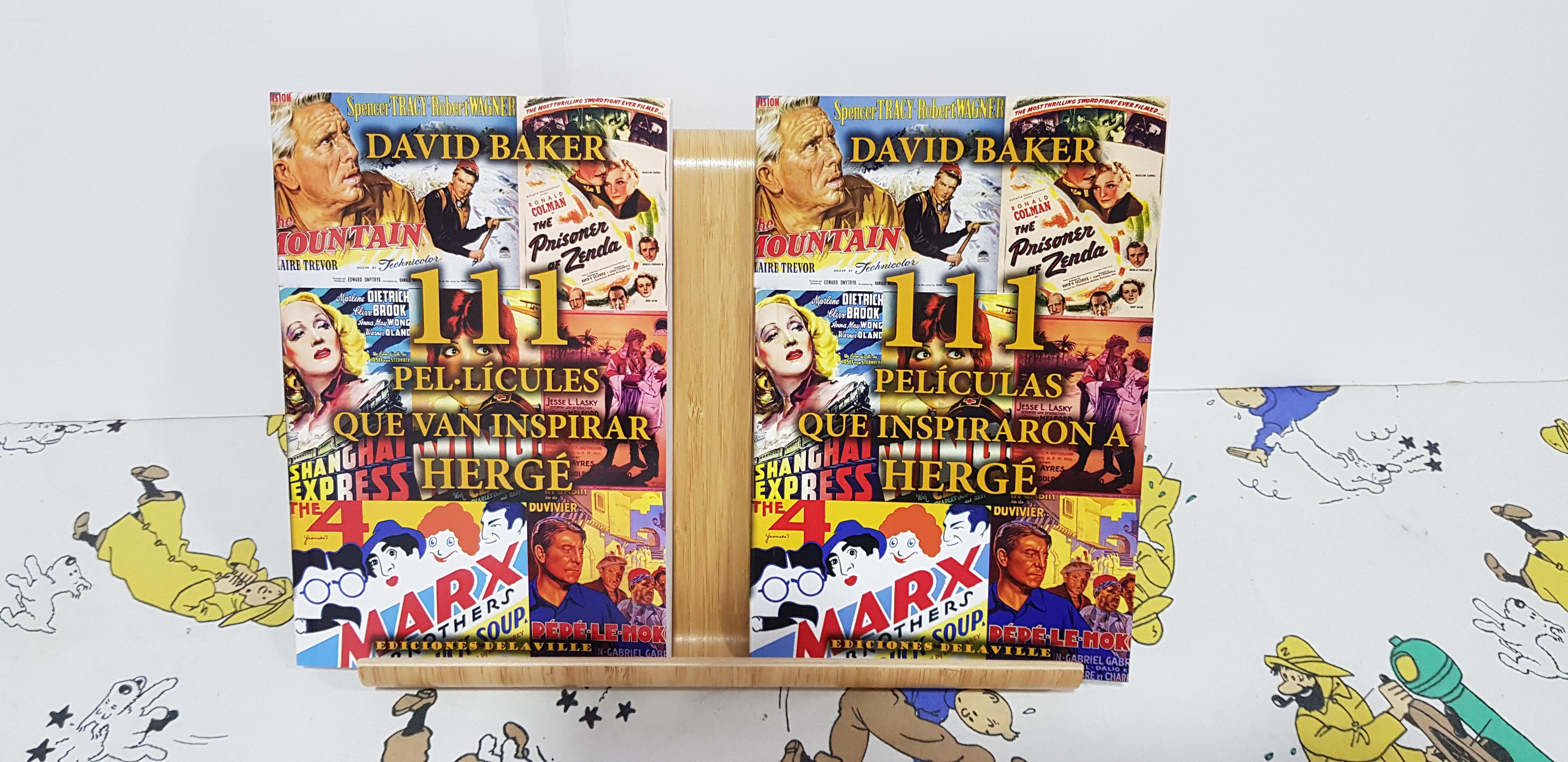 Nuevo libro '111 Películas que inspiraron a Hergé'